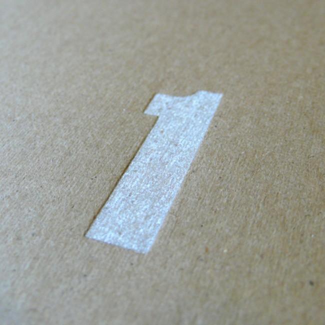 Custom Print: Number 1