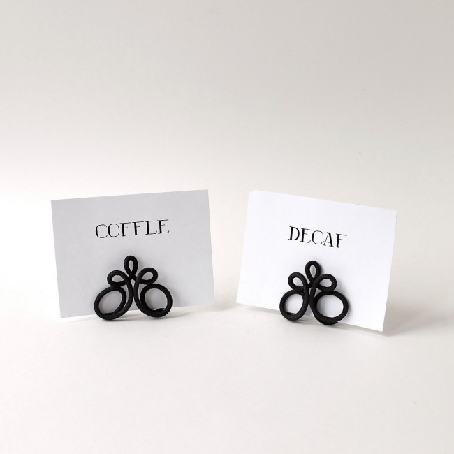 Radio Wire Place Card Holders | Heartfish Blog