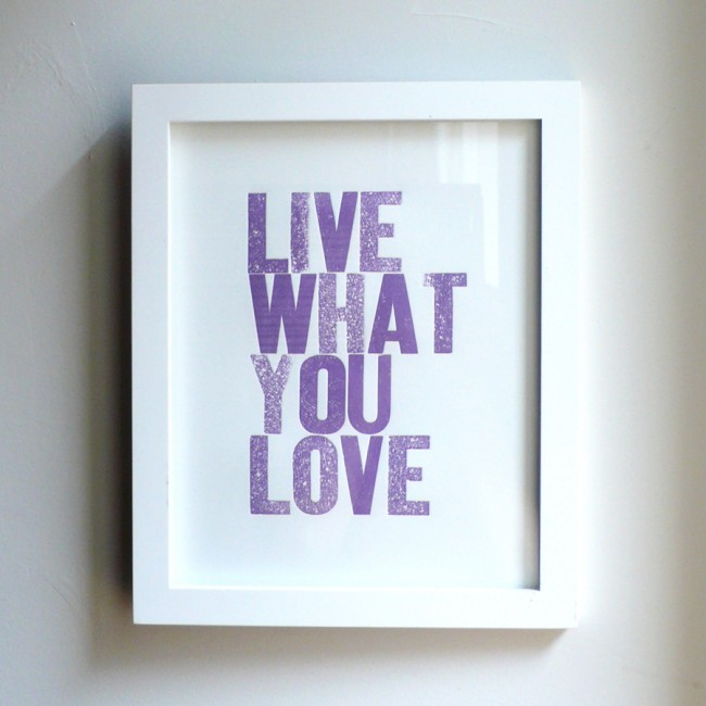 Live What You Love Grape