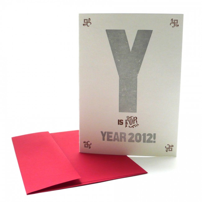 Y is for Year 2012