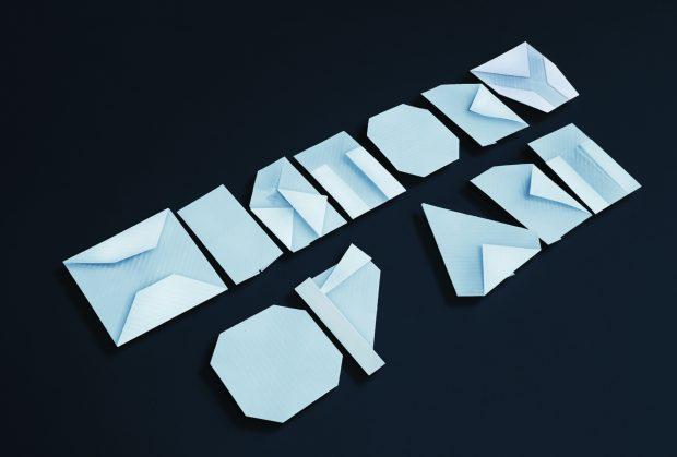 Origami Font Heartfish Blog