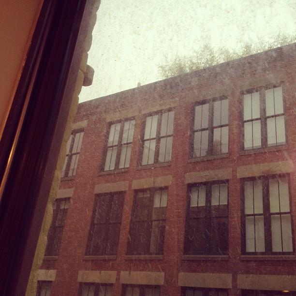 Snowing!!!!!!!!!