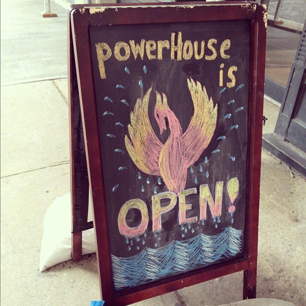 Yay! @powerhousearena is back!